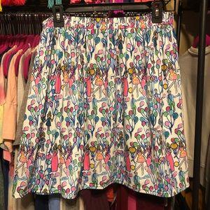 EUC Lilly Pulitzer Pop printed skirt